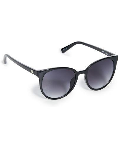 Черные солнцезащитные очки круглые очищающие Le Specs
