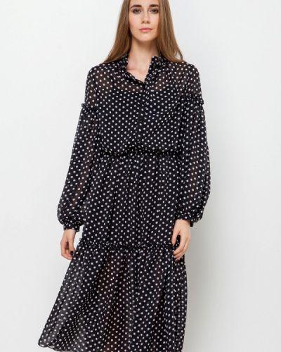 Платье осеннее прямое Escena