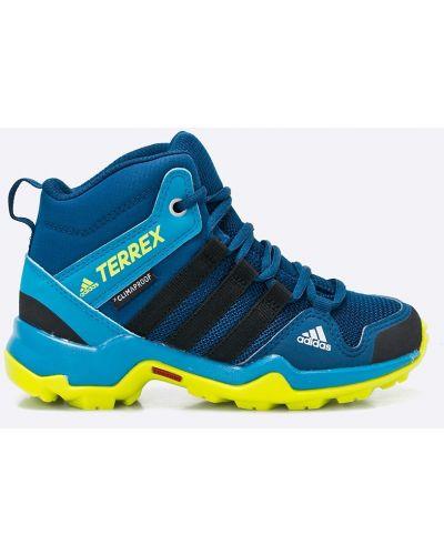 Сапоги зимние синие Adidas Performance