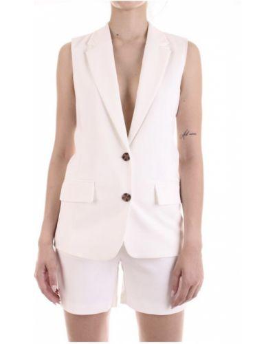 Biała kamizelka elegancka Only