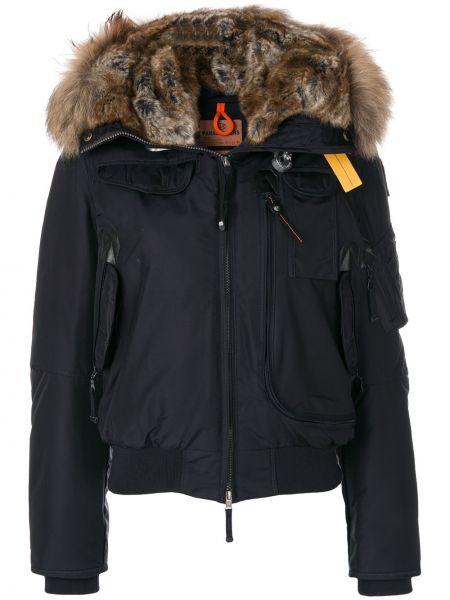 Пальто с капюшоном айвори Parajumpers