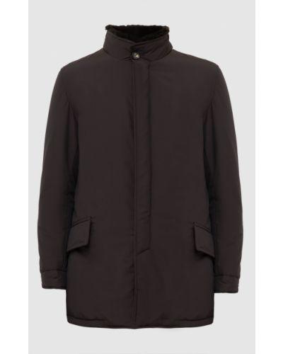 Куртка - коричневая Isaia