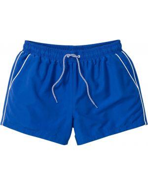 Плавки-боксеры синие Bonprix