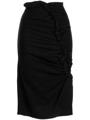 Прямая юбка - черная Christopher Esber
