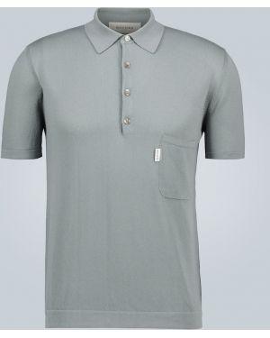 Klasyczna klasyczna koszula bawełniana Rochas