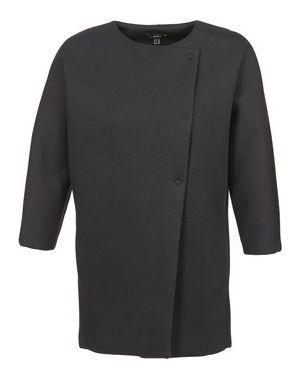 Czarny płaszcz przeciwdeszczowy Mexx