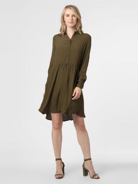 Sukienka z wiskozy - zielona Minimum