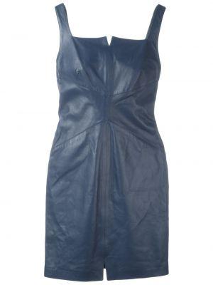 Платье мини кожаное винтажная Romeo Gigli Pre-owned