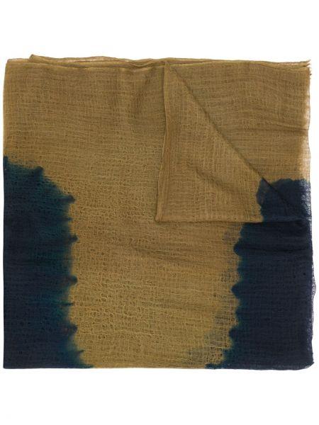 Свободные кашемировый коричневый шарф свободного кроя Suzusan