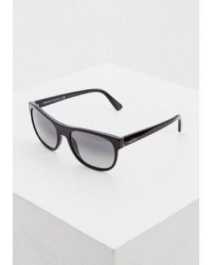 Солнцезащитные очки черные Prada