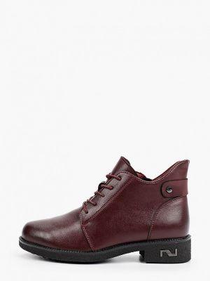 Бордовые резиновые ботинки O-live Naturalle