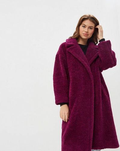Дубленка итальянский фиолетовый Imperial