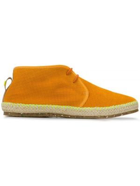 Кожаные туфли - оранжевые Brimarts