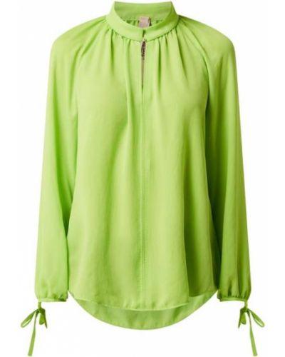 Zielona bluzka z raglanowymi rękawami Marc Cain