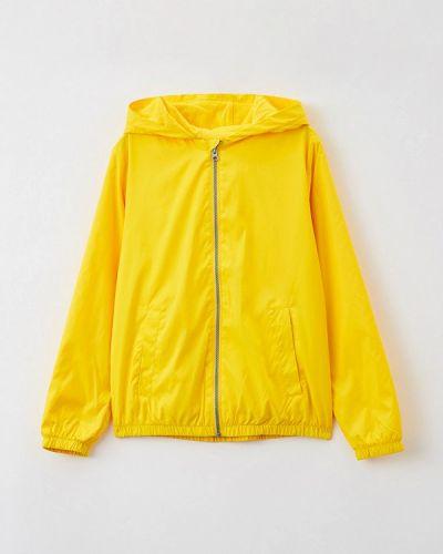 Облегченная желтая куртка United Colors Of Benetton