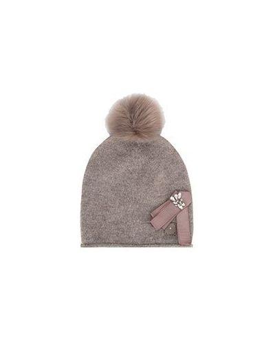 Коричневая шапка Liu Jo