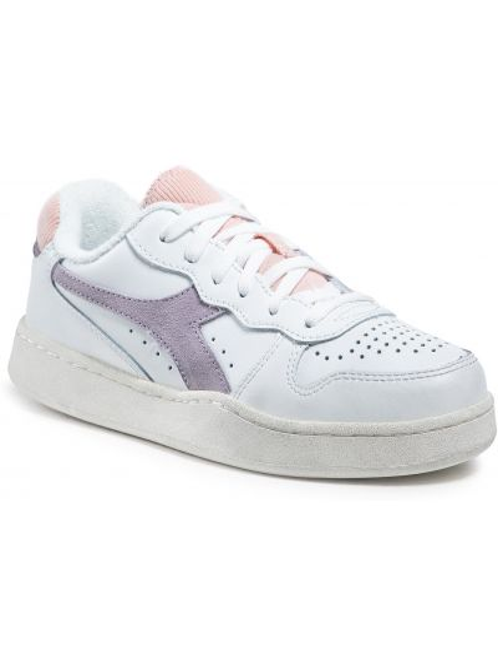 Buty sportowe skorzane - białe Diadora