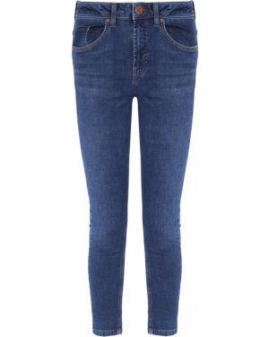 Укороченные джинсы скинни синие One X One