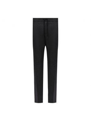 Шерстяные брюки - серые Andrea Campagna