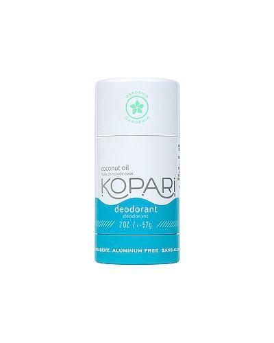 Белый кожаный дезодорант для тела свободного кроя Kopari