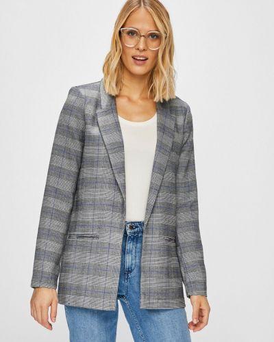 Классический пиджак свободный без застежек Only