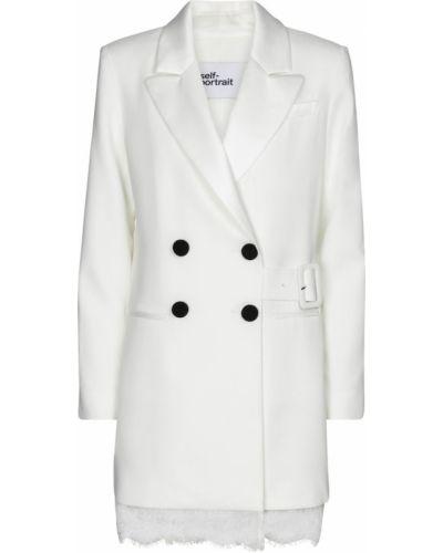 Белый пиджак Self-portrait