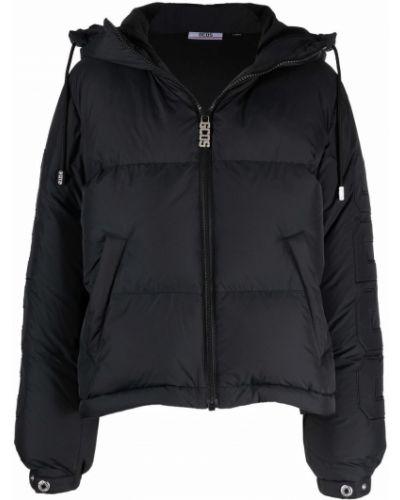 Черная куртка с капюшоном Gcds