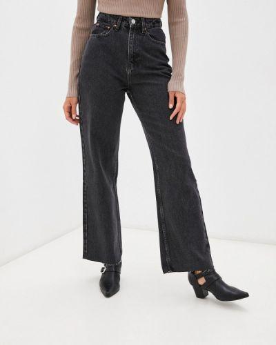 Серые джинсы клеш расклешенные Incity