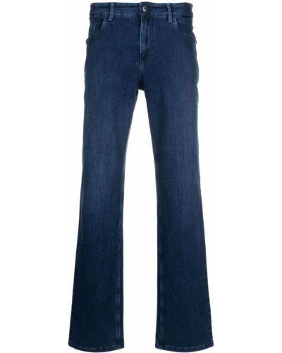 Прямые джинсы классические - синие Zilli