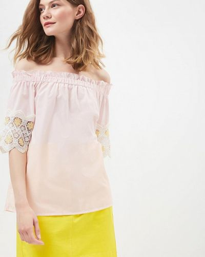 Розовая блузка By Swan