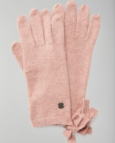Перчатки вязаные с бантом Marc O' Polo