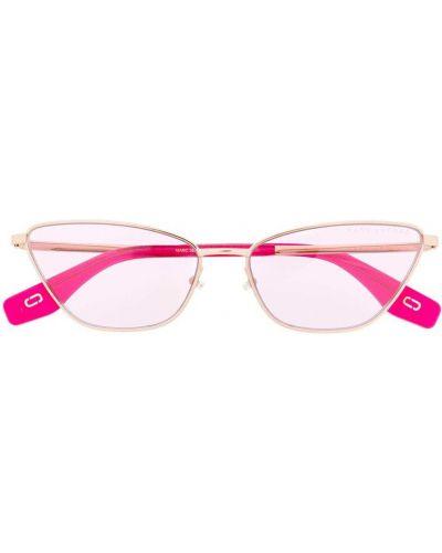 Золотистые желтые солнцезащитные очки Marc Jacobs Eyewear