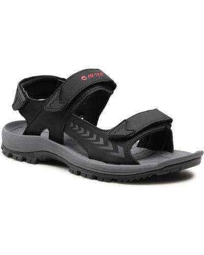 Czarne sandały casual Hi-tec