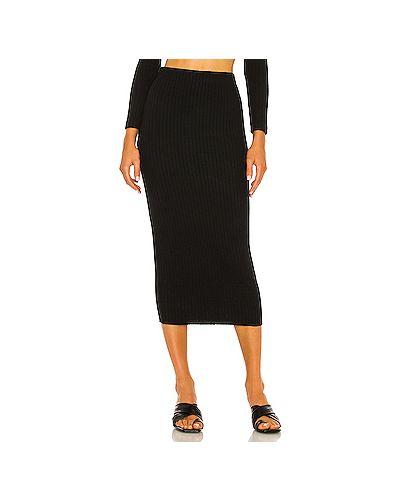Черная юбка из вискозы Enza Costa