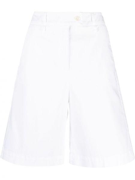 Białe szorty bawełniane Luisa Cerano