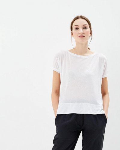 Белая спортивная футболка Asics