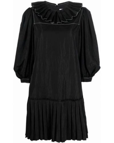 Платье трапеция - черное Rejina Pyo