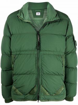 Зеленая куртка на шпильке C.p. Company