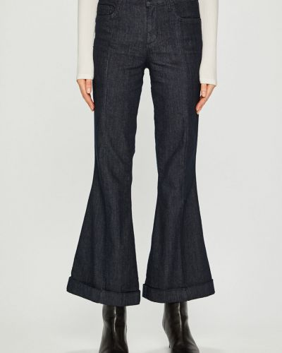 Свободные брюки с карманами с поясом Liu Jo