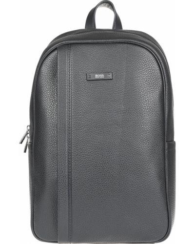 Рюкзак черный на молнии Hugo Boss