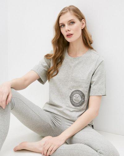 Домашняя серая футболка Calvin Klein Underwear