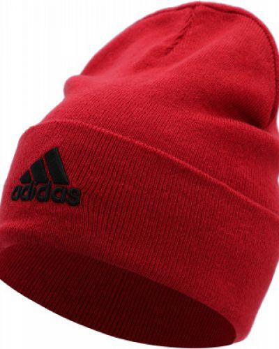 Шапка бини - красная Adidas