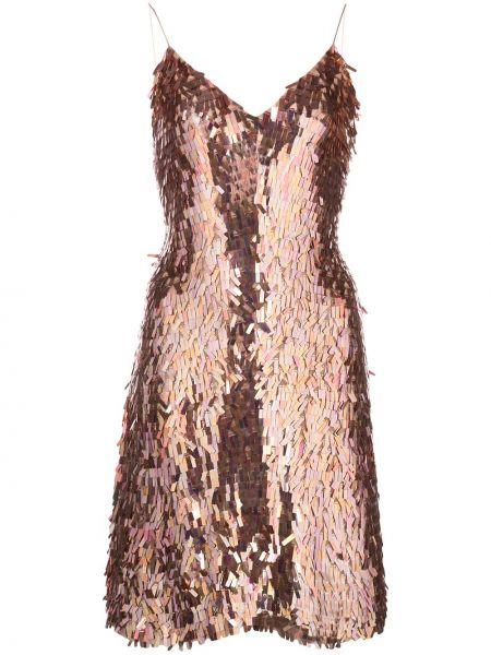 Платье розовое с пайетками Alice+olivia
