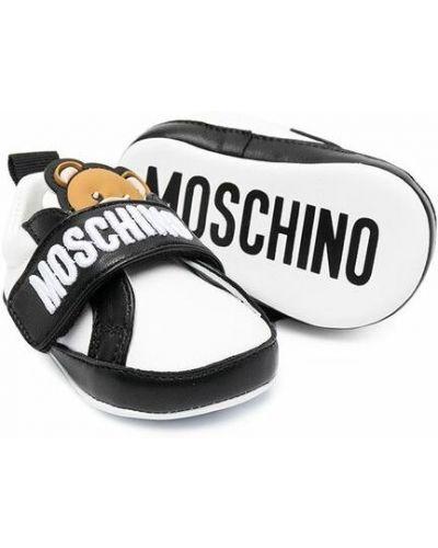 Czarne sneakersy Moschino