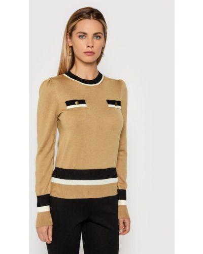 Brązowy sweter Luisa Spagnoli