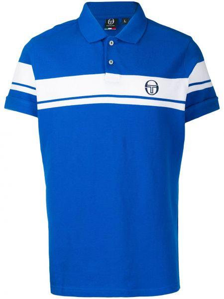 Niebieska koszula bawełniana Sergio Tacchini