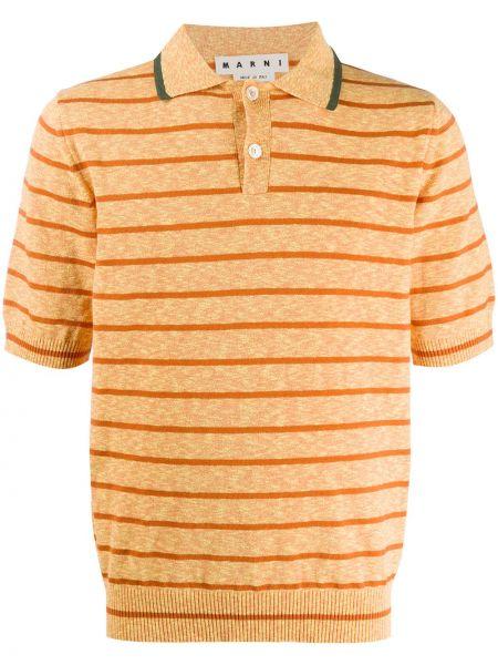 Koszula krótkie z krótkim rękawem klasyczna prosto Marni