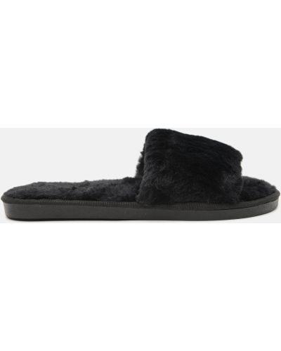 Домашние тапочки - черные Slippers
