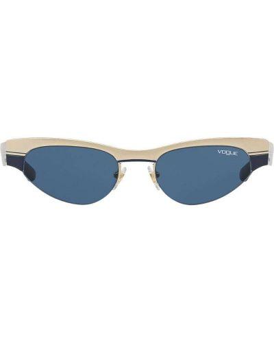 Солнцезащитные очки золотой желтый Vogue Eyewear