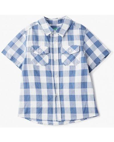 Рубашка синий United Colors Of Benetton